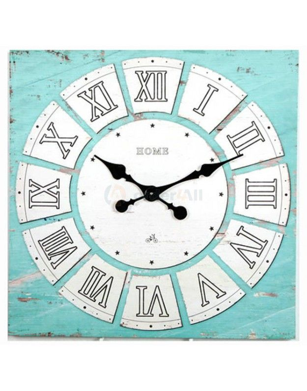 Canvas Wall Clock 60x60 cm
