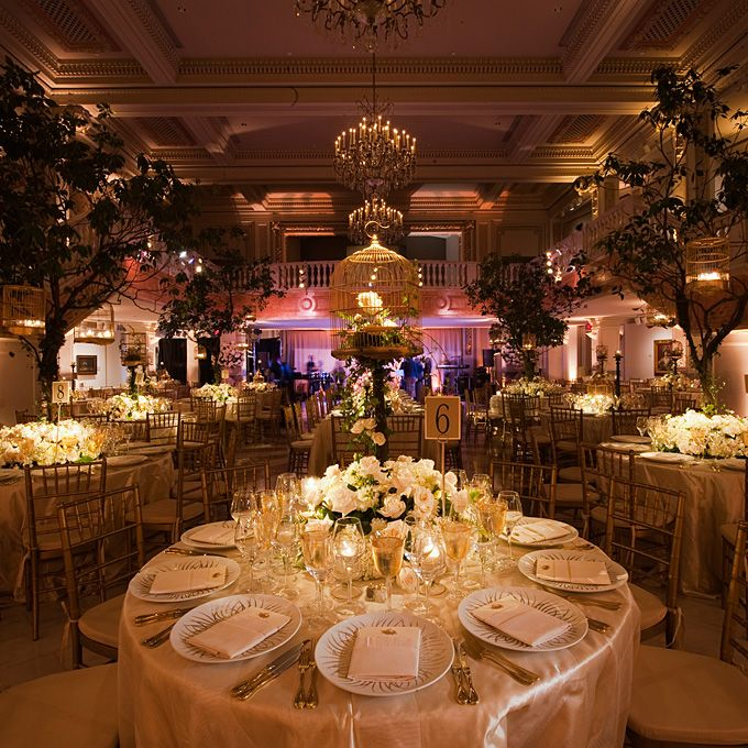 50 romantic wedding venues in the u s for Romantic wedding reception ideas
