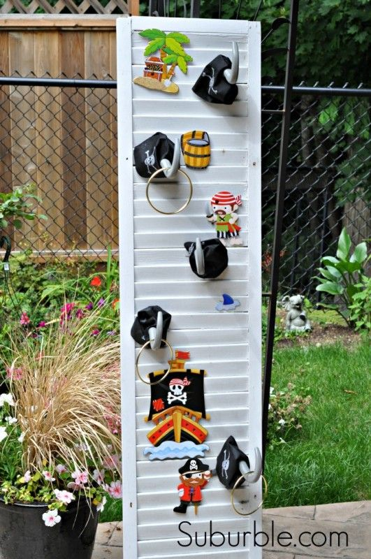 pirate party games | Pirate Party Games: Captain Hook's Ring Toss!