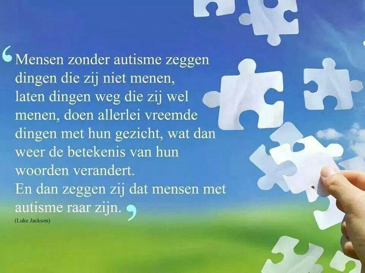 Mensen met zonder autisme