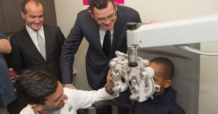Melbourne Optometry students will conduct eye tests as part of the Glasses for Kids program (Photo credit: University of Melbourne)