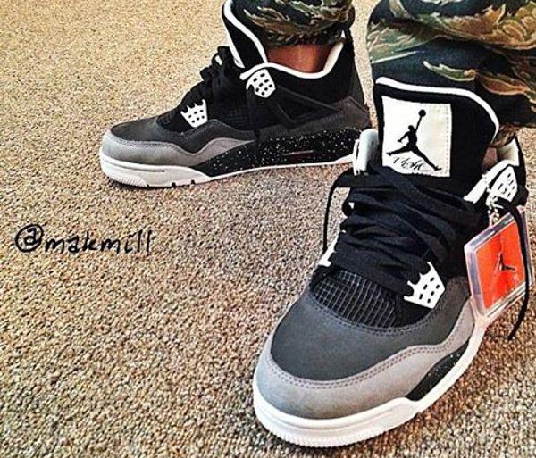 Air Jordan 4 Fear … | Chaussure homme mode, Chaussures jordan ...