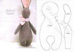 Haasje om zelf te maken. Kijk voor vilt eens op http://www.bijviltenzo.nl, Tilda Hase, rabbit