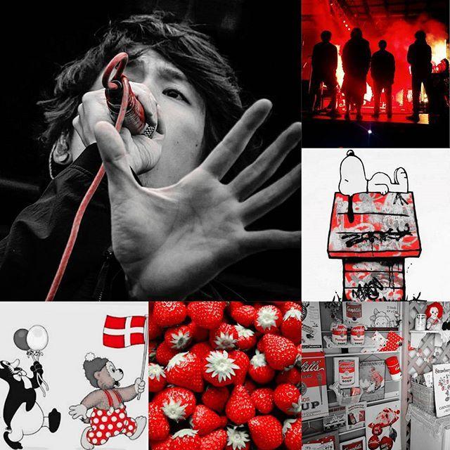 Instagram media kumachanmutakun - @rinna10969 チャンより 赤いものバトン貰いました〜 1♥Takaが使う赤マイク 2♥ONEOKROCKの赤〜 3♥スヌーピーの家^^; 4♥我が家に溢れる赤い雑貨… 5♥大好きなイチゴ 6♥愛しのラスムスクルンプが履いてる水玉パンツ 結局好きな物って結果デス(・ิ∀・ิ) 皆さん赤投稿済の方多いので タグは付けずに(≧∇≦) #oneokrock#赤いマイク#赤い雑貨#snoopy #ラスムスクルンプ
