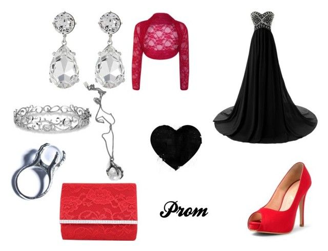 """""""prom look"""" by mary-minge on Polyvore featuring Jacki Design, Kenneth Jay Lane, Effy Jewelry, Killstar, Kill Star and WearAll"""