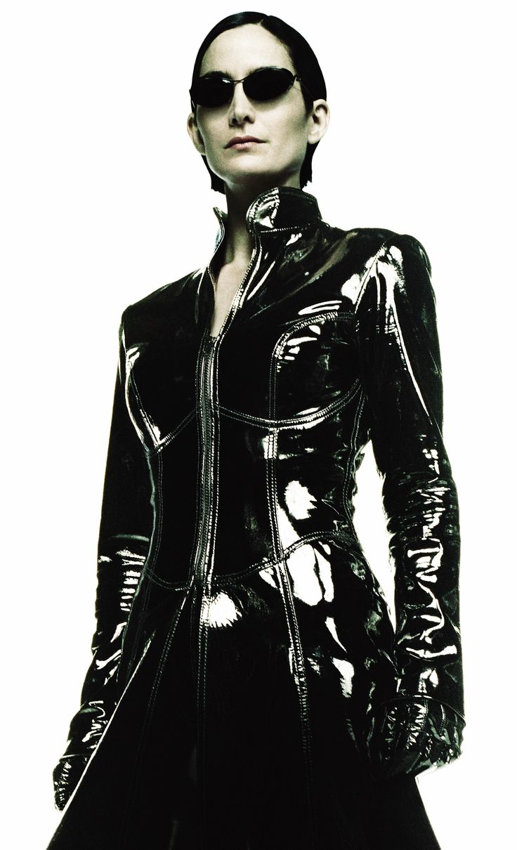 Trinity  (Carrie Anne Moss) the look of something out of this world
