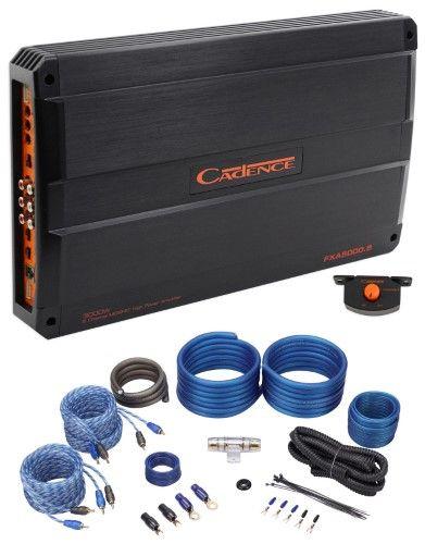 Cadence Fxa5000 5 5000 W Max 5 Channel Class A B Stereo Car Audio