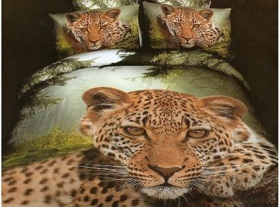 Pościel 3D jaguar. Dostępna w sklepie kasandra.com.pl