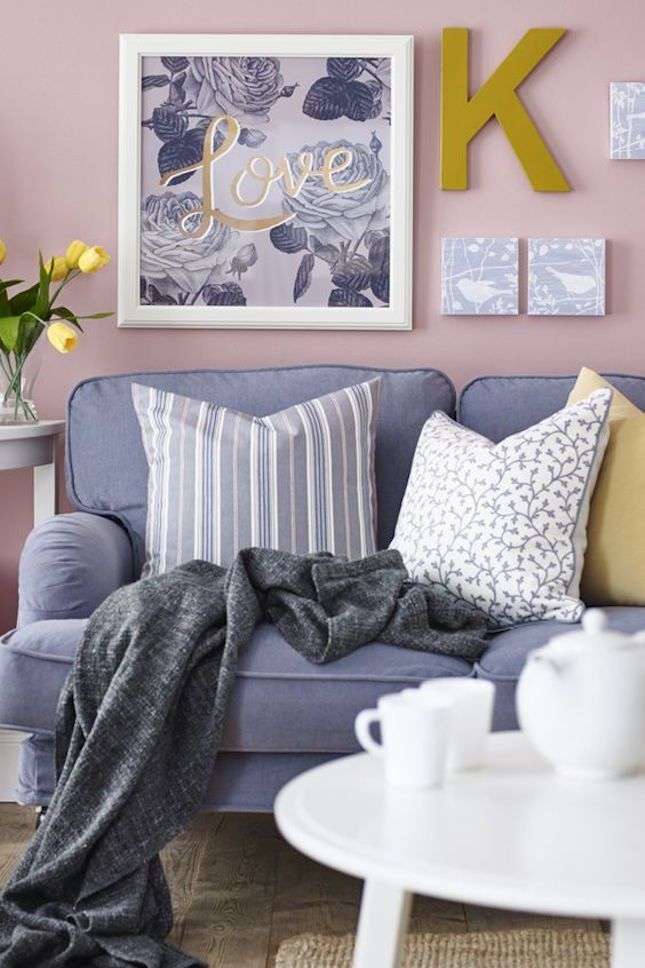 Bookmark this to get inspiration for your living room using IKEA home decor…