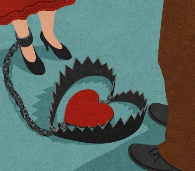 John Holcroft - Illustrations with powerful metaphors