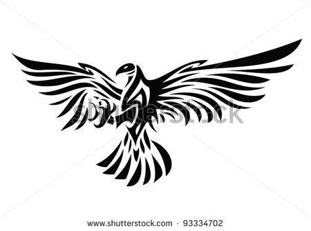 17 best ideas about tribal eagle tattoo on pinterest for Aztec tattoo shop phoenix az