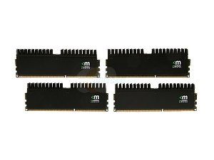 Mushkin Enhanced Blackline 16GB (4 x 4GB) 240-Pin DDR3 SDRAM DDR3 1600 (PC3 12800) Desktop Memory Model 994046