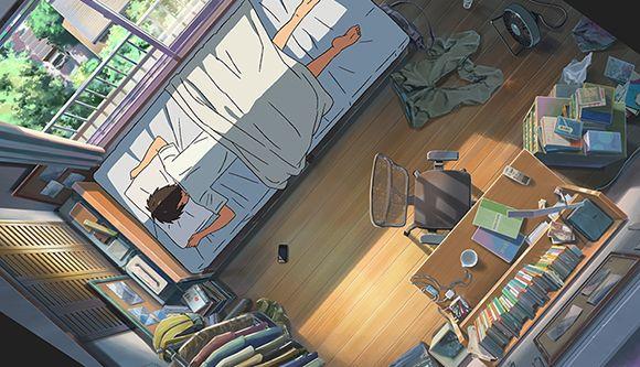 『君の名は。』女子高生・三葉が暮らす家   CINEmadori シネマドリ   映画と間取りの素敵なつながり
