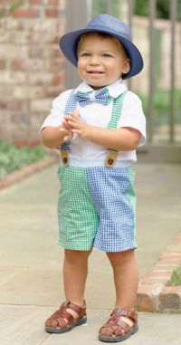 Children's outfits for Easter are full of life, fabrics and colour. Cute, frilly dresses for girls, shirts and ties for boys are always popular during Easter. Incorporating flowers and animals in clothing for children is a brilliant addition to any outfit for Easter.