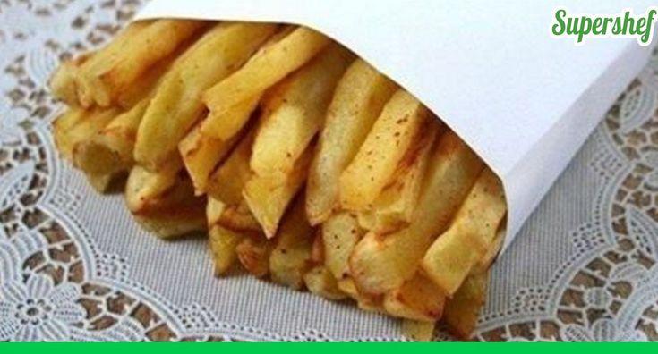 картофель фри без капли масла