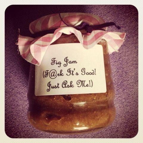FIG JAM! F@rk it's good. Just ask me! Paleo fig jam recipe with an alcoholic twist! http://craftylilmadams.blogspot.co.uk/2013/08/fig-jam-aka-frk-its-good-just-ask-me.html