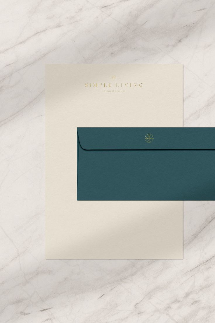 Letterhead And Stationary Design For Simple Living A Concierge Company Based In Loui Logo Design Inspiration Branding Branding Design Logo Letterhead Examples