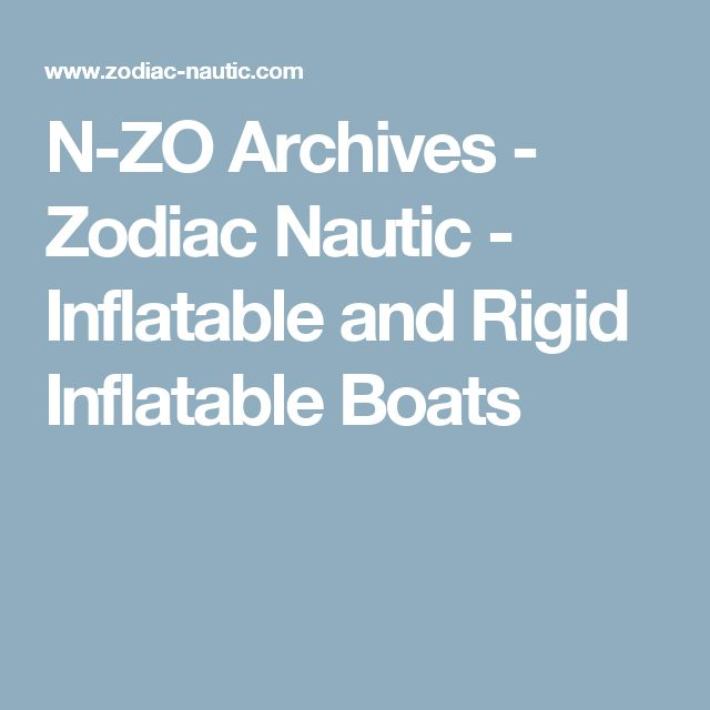 N-ZO Archives - Zodiac Nautic - Inflatable and Rigid Inflatable Boats