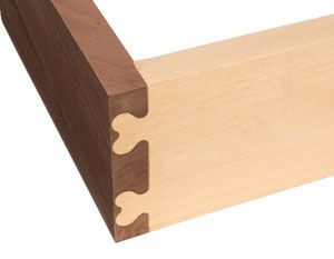 The new Route-R-Joint from Woodline USA, $179, is a unique dovetailing jig. Instead of handling a router on top of the jig, you invert the jig on top of your router table. The Route-R-Joint can cut half-blind and through dovetails, along with heart shaped and other unique corner joints. And there's an incredible lifetime warranty on the templates, even if you plow into them with a router …