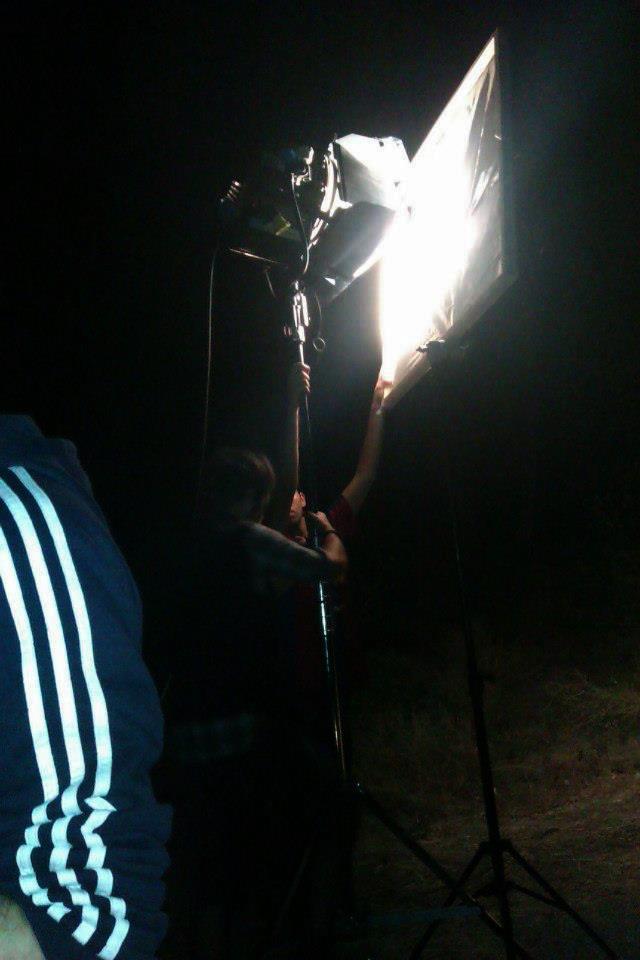 """Los focos fueron uno de los elementos más importantes del rodaje de """"Camping"""""""