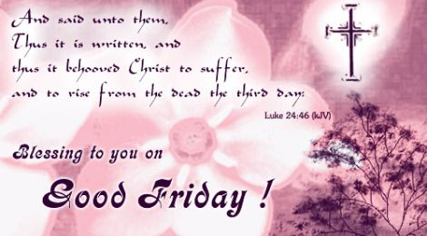 Good Friday Bible Passage | Good Friday quotes Images Bible Verses & whatsapp status