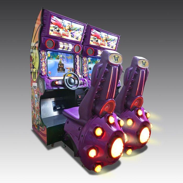 Wacky Races Arcade Machine   The Games Room Company