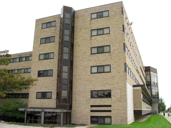 Founders was built in 1957, then renovated and re-opened in the fall of 1993. The residence hall contains 73 apartment-style suites with double and single rooms.