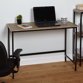 Shop for Simple Living Piazza Wood and Metal Desk. Get free shipping at Overstock.com - Your Online Furniture Outlet Store! Get 5% in rewards with Club O!