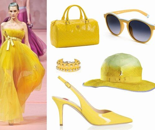 Tutte vestite di giallo quest'estate! http://www.alfemminile.com/moda/album905305/tendenza-colore-giallo-abiti-e-accessori-gialli-0.html#p1 #fashion #yellow #dress
