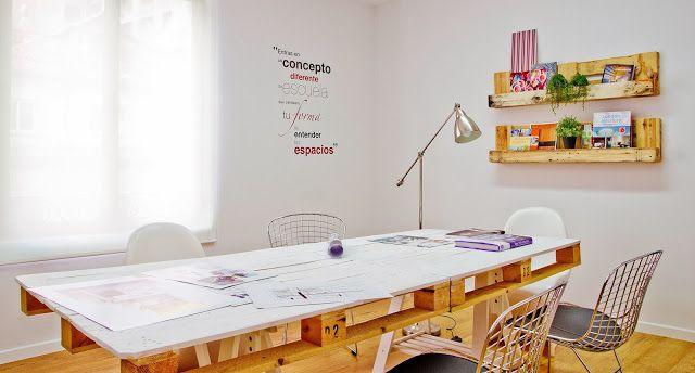 M s de 25 ideas fant sticas sobre cosas hechas con palets - Escuela de interiorismo ...