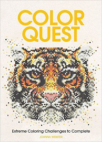 Amazon.fr - Color Quest Adult Coloring Book: Extreme Coloring Challenges to…