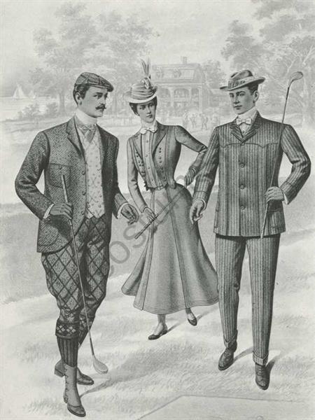 Женские костюмы 20 века в америке