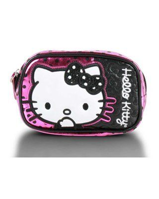 """Women's Hello Kitty Polka Dot Sequin Coin Bag by Loungefly. $14.70. Organize your spare change and small essentials in this cool Hello Kitty coin bag Top zip closure Silver tone key ring Fully-lined interior 5.5"""" x 4.25"""". Organize your spare change and small essentials in this cool Hello Kitty coin bag Top zip closure Silver tone key ring Fully-lined interior 5.5"""" x 4.25"""""""