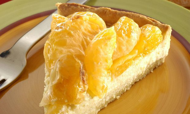 Tangerine Pie (recipe in portuguese)