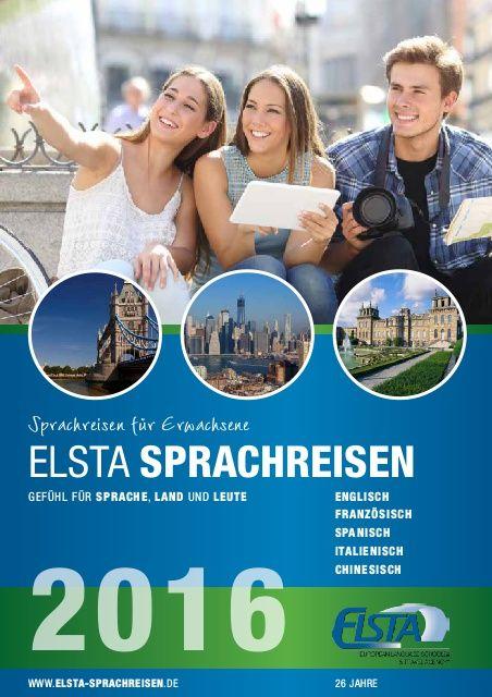Der Elsta #Sprachreisen #Katalog 2016 ist da! Ob #England, #Italien, #Frankreich oder #Spanien- hier ist für jeden was dabei. https://www.elsta-sprachreisen.de/images/Elsta_Sprachreisen_2016.pdf