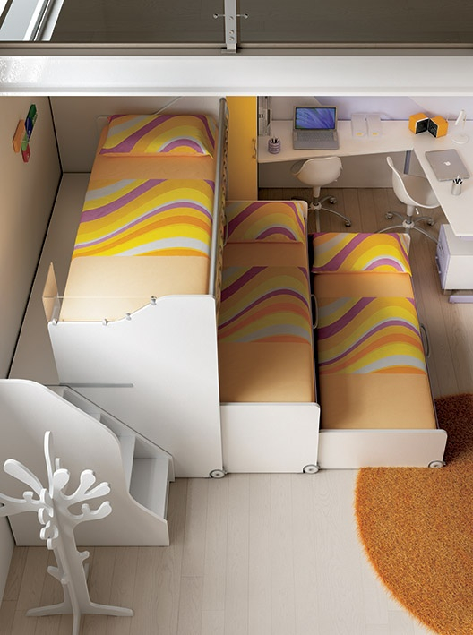Oltre 25 fantastiche idee su arredamento dormitorio scrivania su pinterest dormitorio - Stanze da letto complete ...