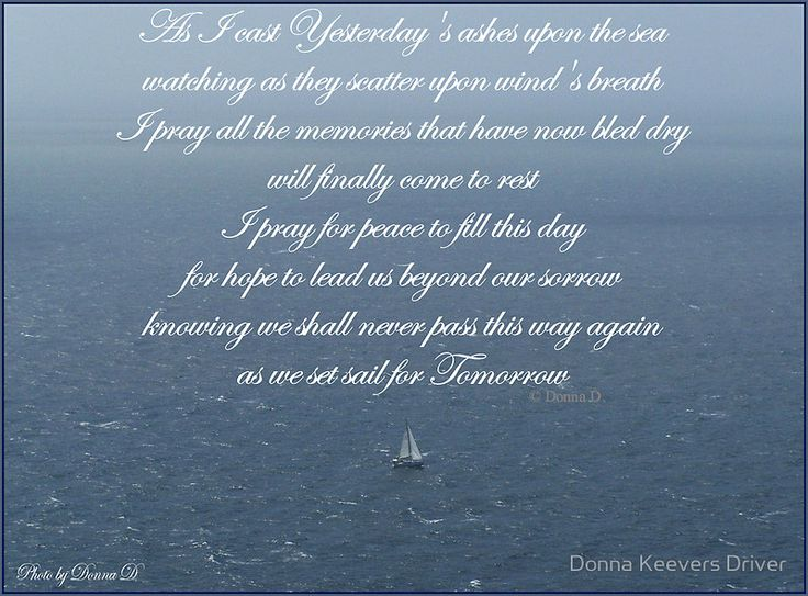 ~ Yesterday's Ashes ~ by Donna Keevers Driver