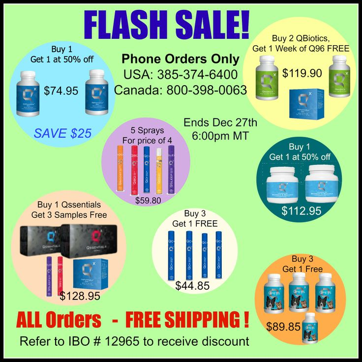 HUGE sale on all natural supplements (with proven results) Learn about the products at QFamilyHealth.com and call in before 6:00pm MST Dec 27th to place your order. FREE SHIPPING on orders too! #boxingdaydeals #sales #flash sale # Qsciences #diet #free shipping