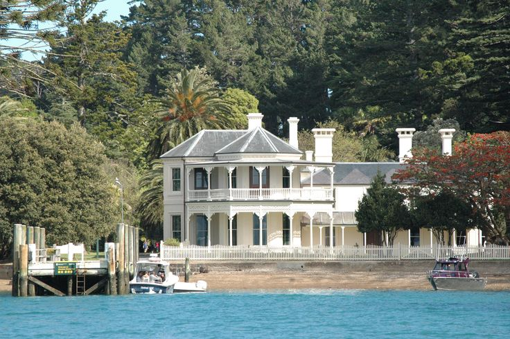 Mansion House , Bon Accord harbour , Kawau Island