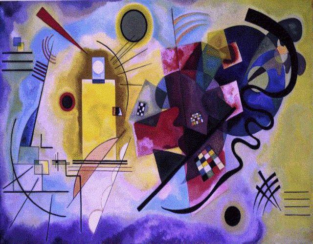 Artes do A'Uwe: Obras de Wassily Kandinsky