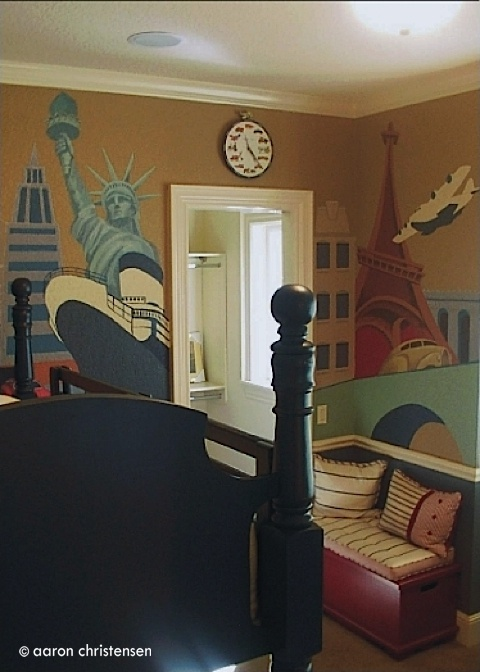 17 Best Ideas About Travel Themed Bedrooms On Pinterest