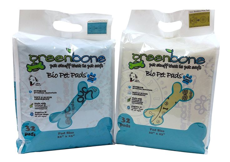 Greenbone Puppies & Indoor Dogs Training Pads 32 Count
