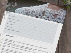 Hochzeits Fotografen - Vertrag! Dieses tolle Template ermöglicht Dir komplett alles anzupassen oder so zu übernehmen wie es ist. Alle wichtigen Punkte für Deinen Auftrag sind festgehalten und Du kannst es sogar Interaktiv auf Deinem Ipad ausfüllen und direkt versenden.  Nie mehr Enttäuschungen oder Missverständnisse…