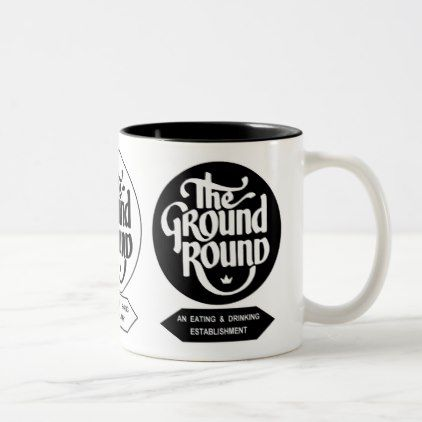 The Ground Round Restaurants of Illinois. Two-Tone Coffee Mug - home gifts cool custom diy cyo