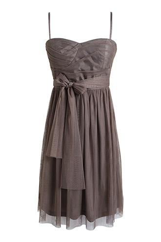 bustier-jurk van mesh