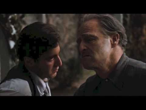 The Godfather Garden Scene. The restrained method of acting is so amazing to watch.