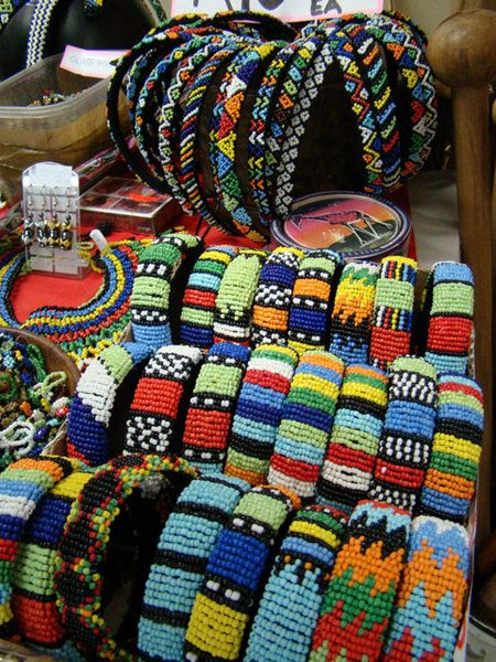 South African Bead Work jewelry