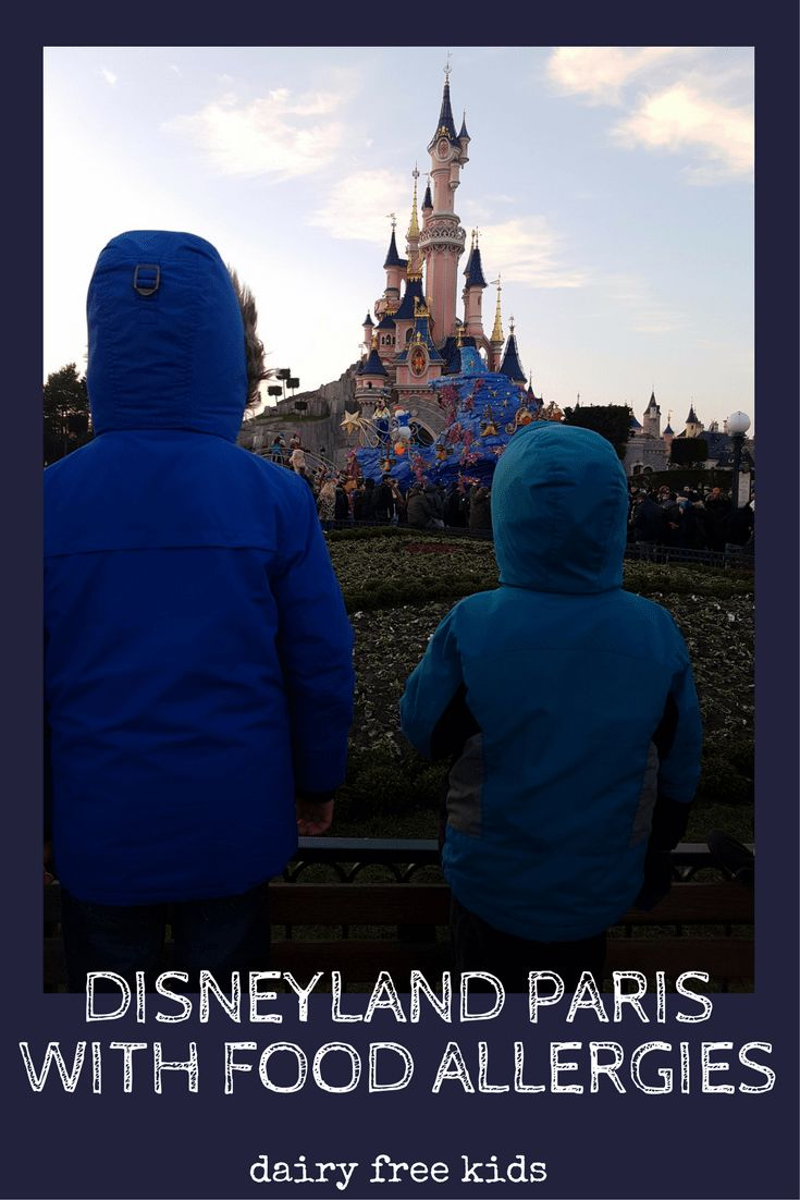 Disneyland Paris with food allergies - how we got on eating out in Disneyland Paris with dairy allergy.