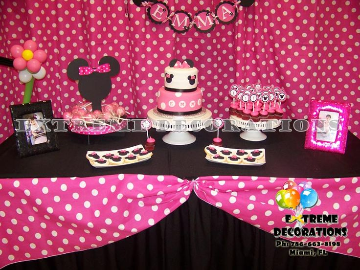 105 best Minnie Mouse Party images on Pinterest Minnie ...