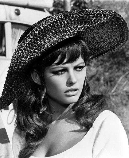Claudia Cardinale, Italian Tunisian actress from 8 1/2, the 1963 film by…
